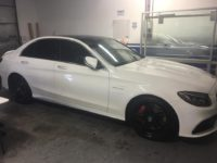 Window Tint on a Mercedes